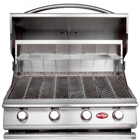 cal gourmet series 4 burner built in stainless steel