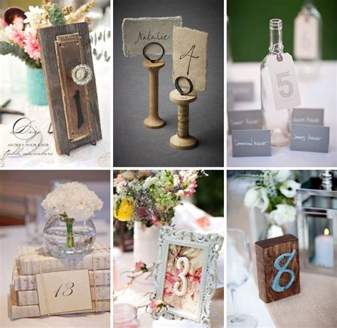 Wedding Table Number Ideas Wedding Table Number Ideas Table Numbers Pinterest