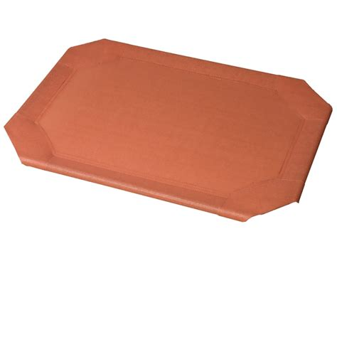 dog bed replacement covers coolaroo replacement cover for pet beds orange small