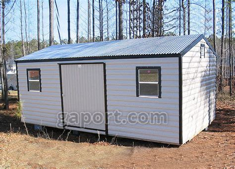 20 By 12 Shed by Storage Sheds Can Get Your Car Back In The Garage Where It