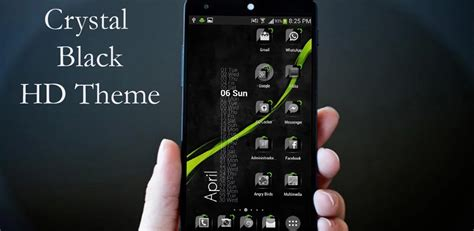 black theme download for android android theme crystal black flat hd