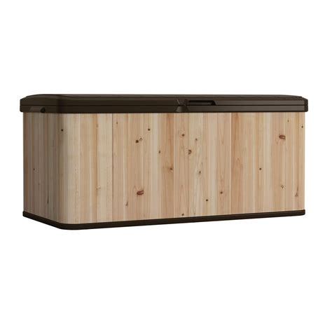 Rubbermaid Patio Chic by Awesome Rubbermaid Patio Chic Storage Bench 83 On Bamboo