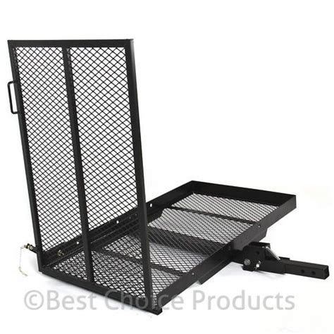 power chair hitch carrier racks for power chairs carrier wheelchair electric