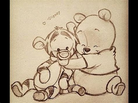 imagenes de winnie pooh de amor para dibujar resultado de imagen para dibujos a lapiz de winnie pooh