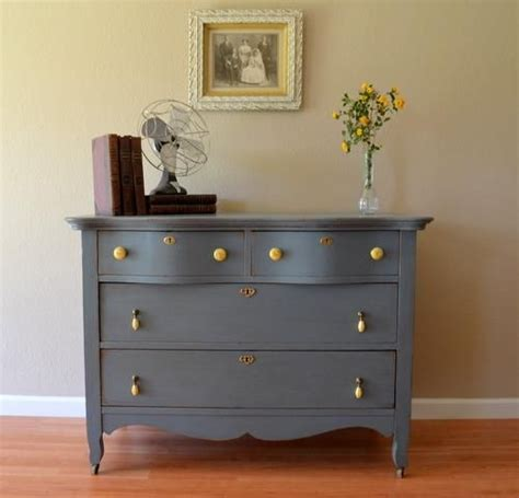 Gray Dresser Knobs by Gray Dresser Yellow Knobs For The Home