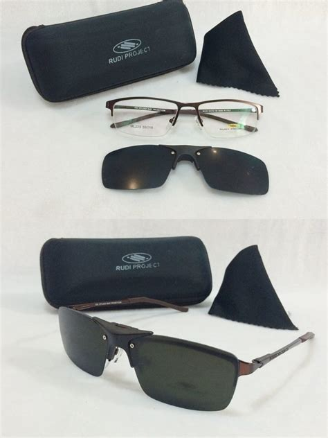 Kacamata Clip On Valentino Rudy frame kacamata rudy project clip on snur polarized coklat