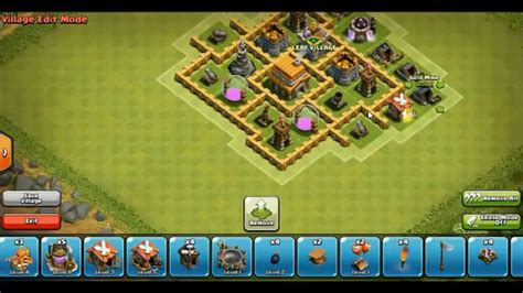 layout hybrid coc th5 clash of clans best ever hybrid base for th5 resources