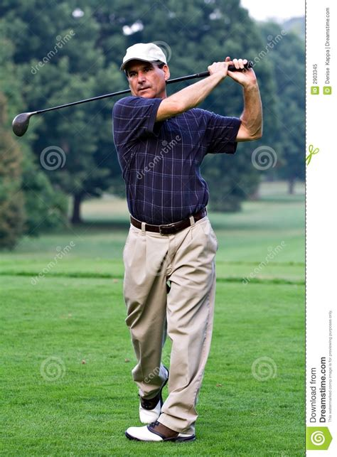 golf swing for fat guys big driver royalty free stock photo image 2903345