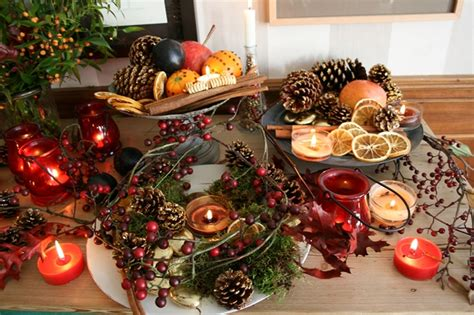 Southern Living Home Decor Party diy christmas candle centerpieces 40 ideas for your table