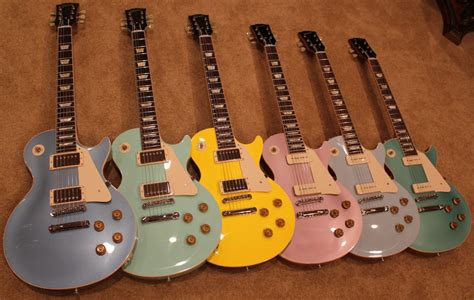 less color more custom color les pauls