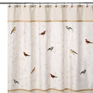 avanti gilded birds 70 inch x 72 inch shower curtain bed