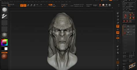 zbrush game tutorial zbrush sculpting tutorial white walker from game of thrones hd