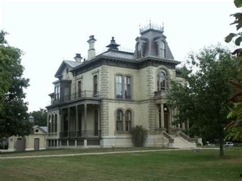 Bloomington Il Court Records Clover Lawn Aka David Davis Mansion Bloomington Il U S National Register Of