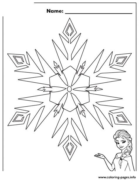 printable books about snowflakes elsa frozen snowflake colouring page coloring pages printable