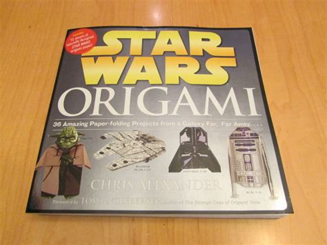 Wars Origami Book Series - how to host a wars themed birthday w free