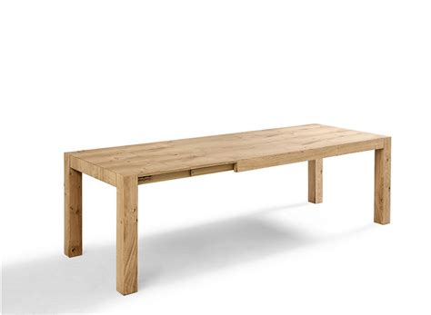 tavolo rovere allungabile tavolo tola in rovere naturale allungabile di point