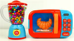 Just Like Home Kitchen Play Set Microwave And Blender Just Like Home Kitchen