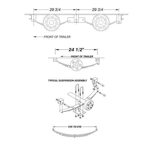 tandem axle utility trailer diagram trailer brake magnet