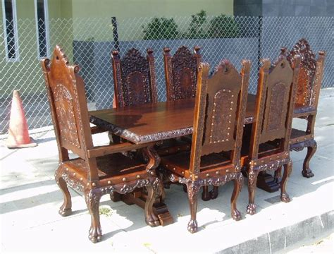 Mission Style Dining Table And Chairs Images Antique renaissance architecture custom old world furniture