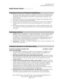 Resume Summary Format by Best Resume Sles 2016 Best Resume Format