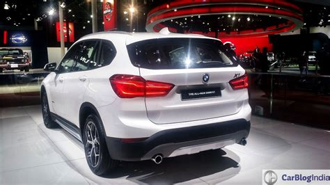 bmw 1 india 2016 bmw x1 india launch price specification images