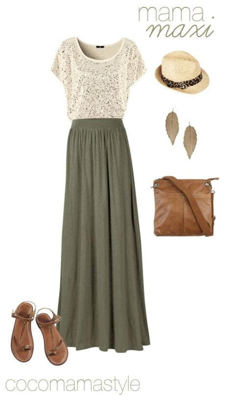 maxi dresses and skirts fashion combinations