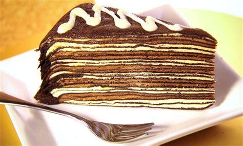 slices  hokkaido thousand layer cake