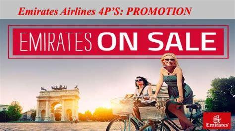 emirates promotion emirates airlines 4 p s