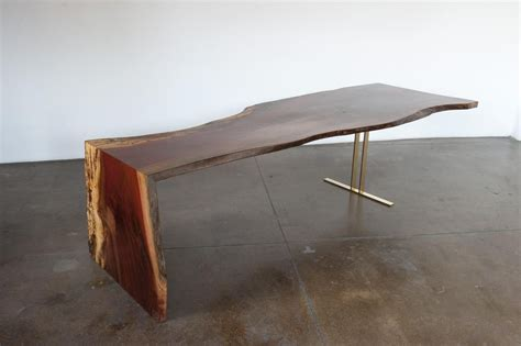 Lucite Dining Room Table handmade indonesian ingas live edge waterfall dining table