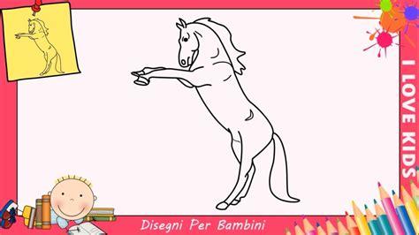 disegni cavalli facili cavallo disegno per bambini facile con disegno cavallo da
