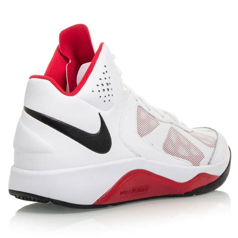 nike fusion basketball shoes nike dual fusion bb mens basketball shoes white black