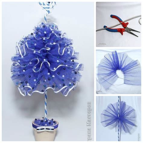 Holiday Decors by Creative Ideas Diy Tulle Christmas Tree