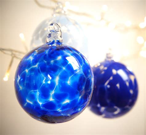Handmade Blown Glass - items similar to sapphire blue handmade blown glass
