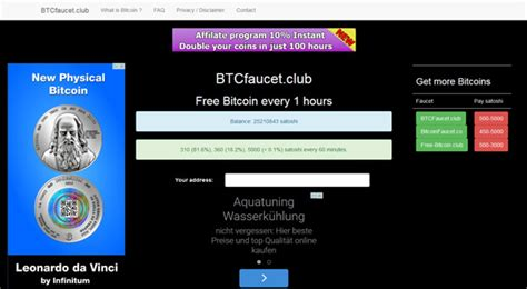 bitcoin faucet club cryptotrading