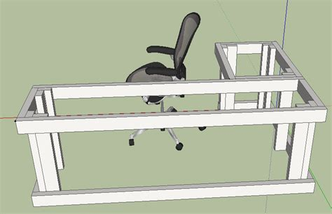 l shaped desk design plans furnitureplans