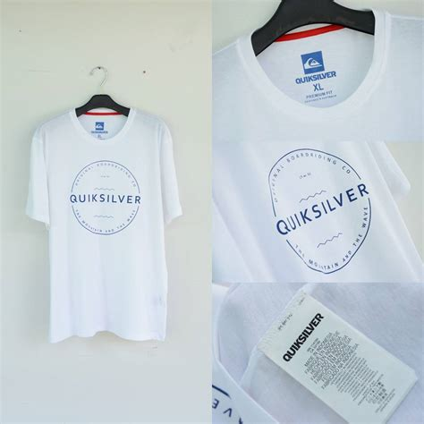 Kaos Jersey Quiksilver A 3460 jual quiksilver the mountain and the wave t shirt white