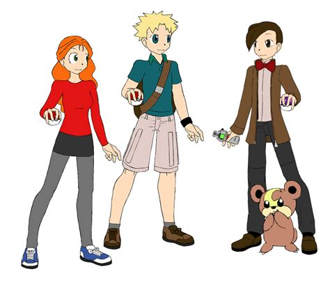 pokemon trainer girl creator pokemon trainer creator doctor who by consultingdoctor on