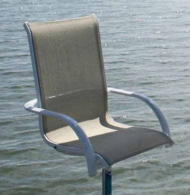boat dock chairs umbrella table and chairs boat docks piers aluminum