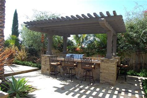 backyard bbq areas bbq area outdoor spaces pinterest