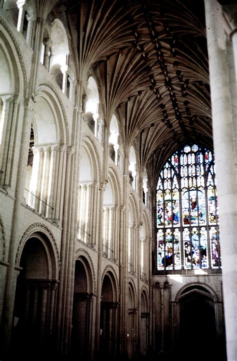 Cathedral Interior by Norwich Cathedral Interior