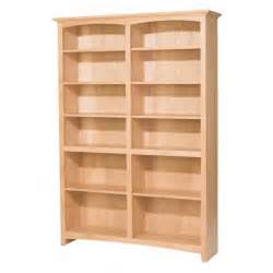 unfinished wood furniture bookcases inspiring unfinished bookshelves unfinished bookcases
