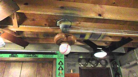 hunter baseball ceiling fan hunter quot baseball fan quot ceiling fan youtube