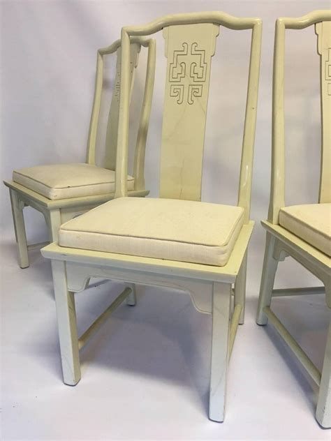 century furniture chin hua asian chinoiserie dining chairs