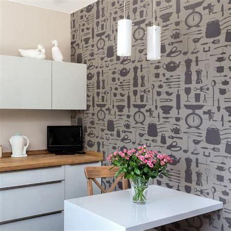 funky wallpaper home decor 23 best kitchen wallpaper images on pinterest kitchen