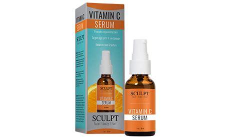 Vitamin C Serum Collagen Active Ingredients sculpt