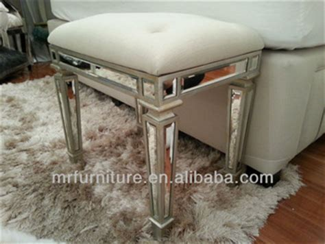 mirrored bedroom bench mr 401052 mirrored bedroom stool bench chair buy mirrored bed stool chair with