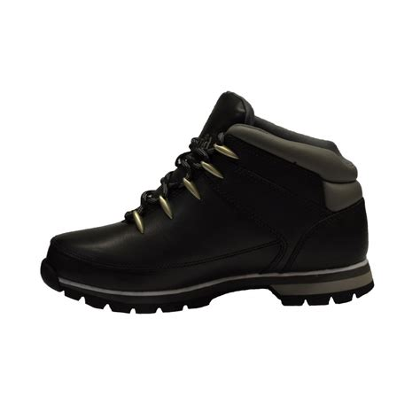 black timberland boots mens timberland timberland sprint leather black n30 mens