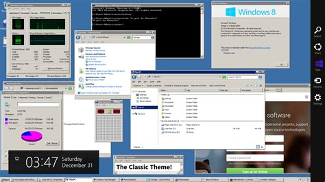 classic theme wallpaper the classic theme in windows 10 and 8 1 classictheme exe