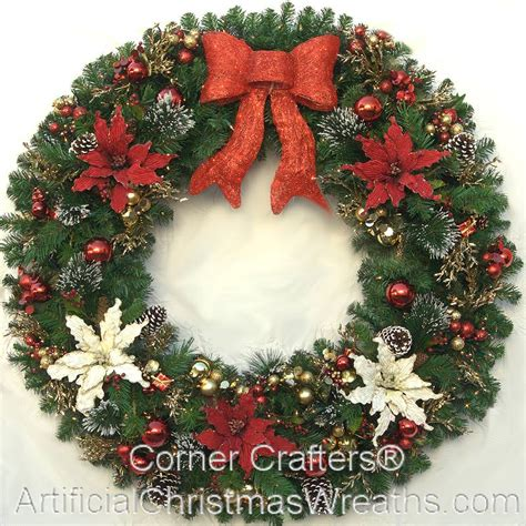 large outdoor christmas decorations christmas wreath