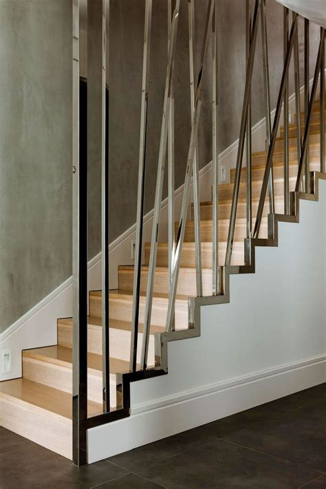 Decorative Wood Railing by Interior Glazed Stainless Steel Baluster With Cross Pattern Accent Decorative Staircase As
